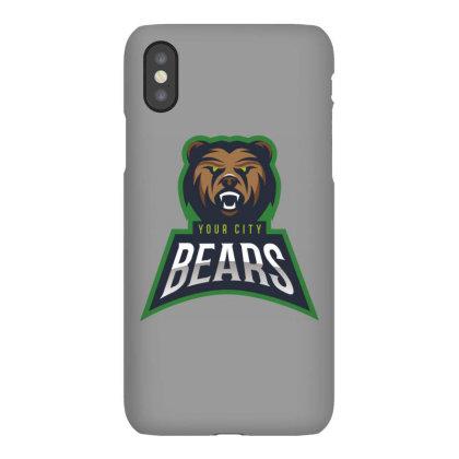 Bear Iphonex Case Designed By Estore