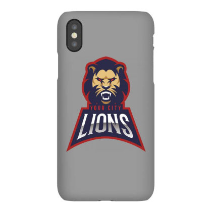 Lion Iphonex Case Designed By Estore
