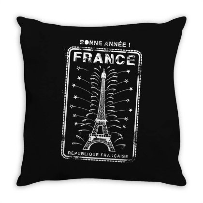 France Throw Pillow Designed By Estore