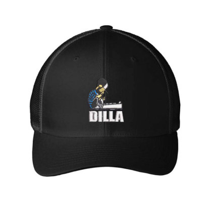 Dilla Embroidered Hat Embroidered Mesh Cap Designed By Madhatter