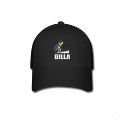 Dilla embroidered hat Baseball Cap | Artistshot