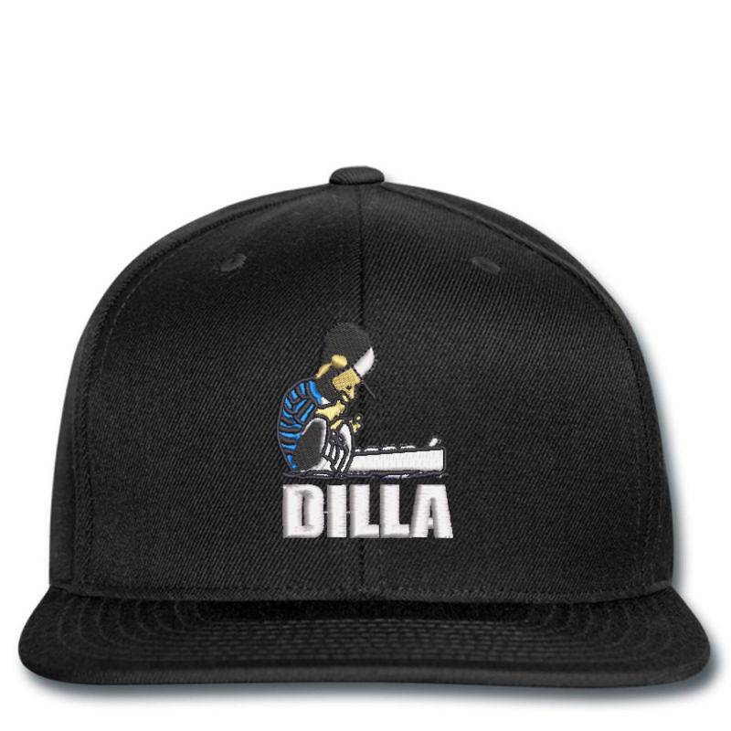 Dilla Embroidered Hat Snapback | Artistshot