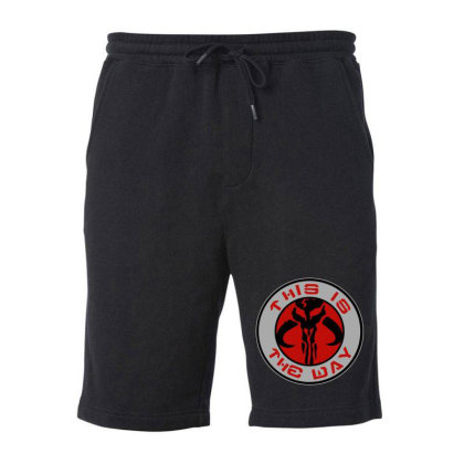 This Is The Way Fleece Short Designed By Dorothy Tees