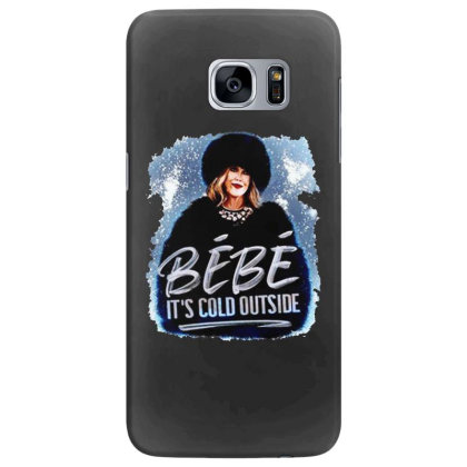 Moira Rose   Bebe It's Cold Outside Samsung Galaxy S7 Edge Case Designed By Garden Store