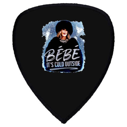 Moira Rose   Bebe It's Cold Outside Shield S Patch Designed By Garden Store