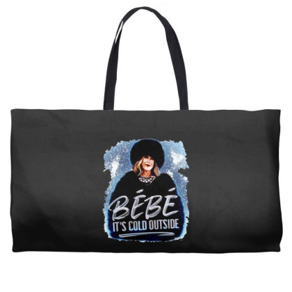 Moira Rose   Bebe It's Cold Outside Weekender Totes Designed By Garden Store
