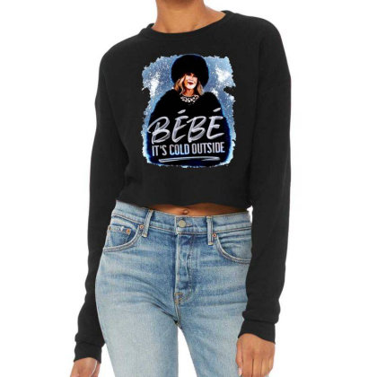 Moira Rose   Bebe It's Cold Outside Cropped Sweater Designed By Garden Store
