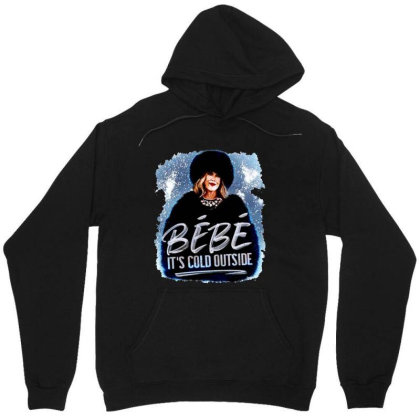 Moira Rose   Bebe It's Cold Outside Unisex Hoodie Designed By Garden Store
