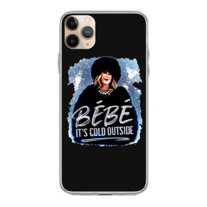Moira Rose   Bebe It's Cold Outside Iphone 11 Pro Max Case Designed By Garden Store