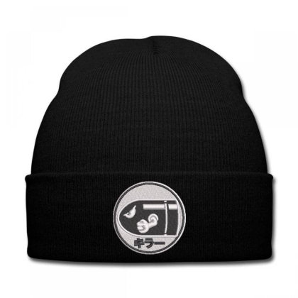 Bullets Embroidered Hat Knit Cap Designed By Madhatter