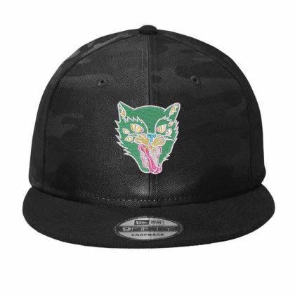 Fox Embroidered Hat Camo Snapback Designed By Madhatter
