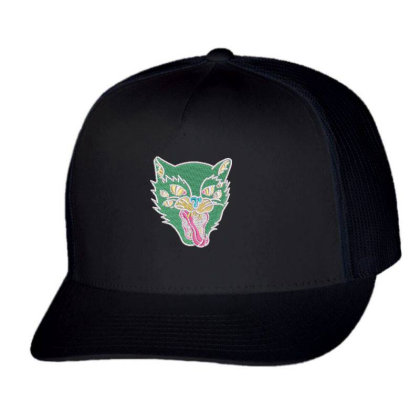 Fox Embroidered Hat Trucker Cap Designed By Madhatter