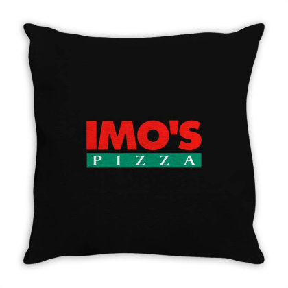 Imo's Pizza 2020 Throw Pillow Designed By Sephia