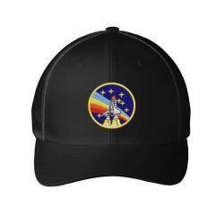 ROCKET Embroidered Mesh cap | Artistshot