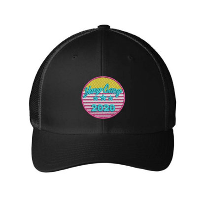 Yang Gang 2020 Embroidered Hat Embroidered Mesh Cap Designed By Madhatter