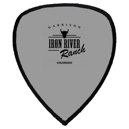 Iron River Ranch Shield S Patch Designed By Planetshirts