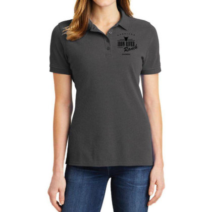 Iron River Ranch Ladies Polo Shirt Designed By Planetshirts