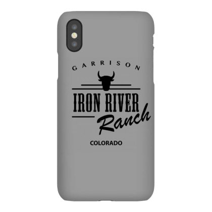 Iron River Ranch Iphonex Case Designed By Planetshirts