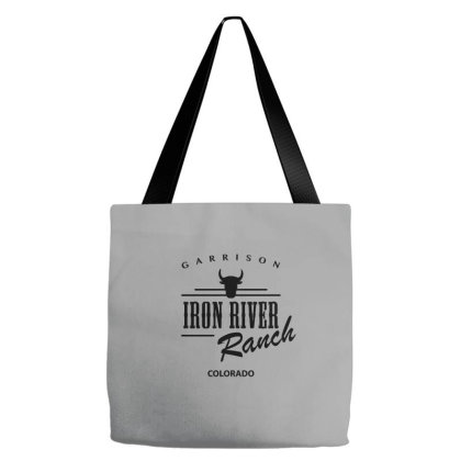 Iron River Ranch Tote Bags Designed By Planetshirts