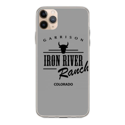 Iron River Ranch Iphone 11 Pro Max Case Designed By Planetshirts