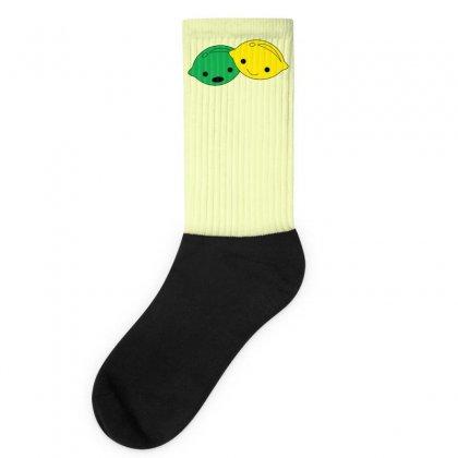 Lemon Lime Socks Designed By Ismanurmal4