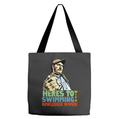 Quint  Jaws Tote Bags Designed By Just4you