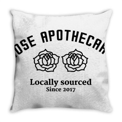 Rose Apothecary Throw Pillow Designed By Jetstar99