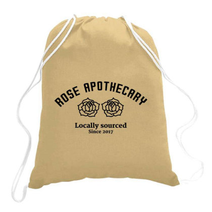 Rose Apothecary Drawstring Bags Designed By Jetstar99