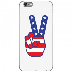 Peace Sign Hand iPhone 6/6s Case | Artistshot