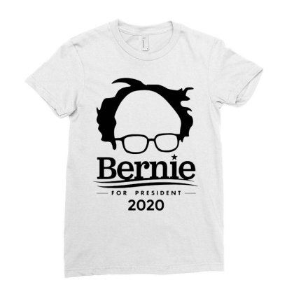 Sanders 2020 For President Ladies Fitted T-shirt Designed By Just4you