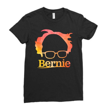 Sanders 2020 Ladies Fitted T-shirt Designed By Just4you