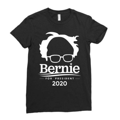 Sanders For President 2020 Ladies Fitted T-shirt Designed By Just4you