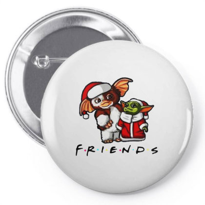 Santa Friends  2020 Pin-back Button Designed By Just4you