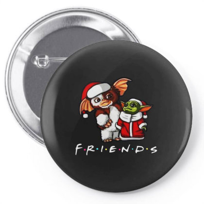 Santa Friends Pin-back Button Designed By Just4you