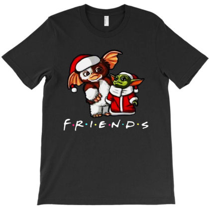 Santa Friends T-shirt Designed By Just4you