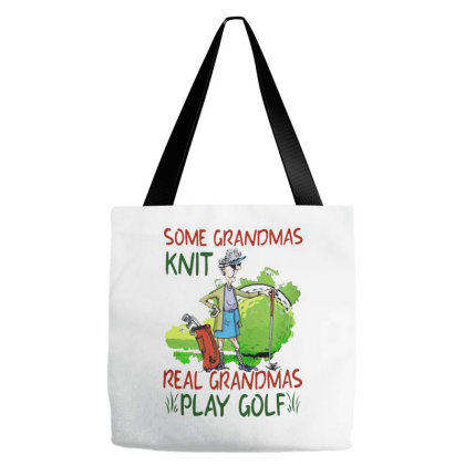 Grandmas Play Golf Tote Bags Designed By Just4you