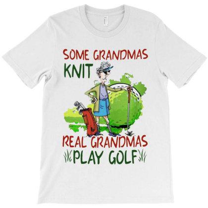 Grandmas Play Golf T-shirt Designed By Just4you