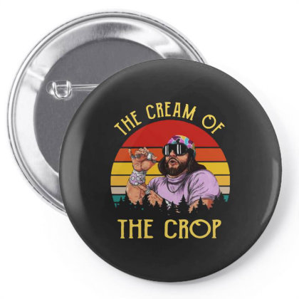 Randy Savage The Cream Of The Crop Vintage Pin-back Button Designed By Just4you