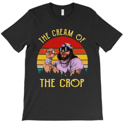 Randy Savage The Cream Of The Crop Vintage T-shirt Designed By Just4you