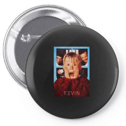 Funny Home Alone Pin-back Button Designed By Just4you