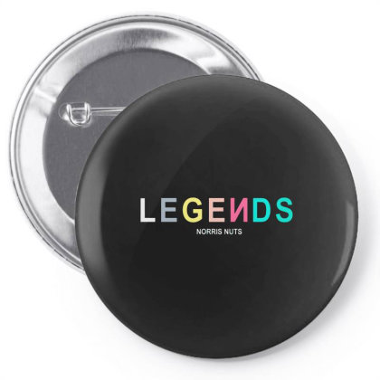 Norris Nuts Legend Pin-back Button Designed By Just4you