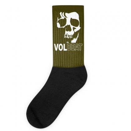 Volbeat Danish Rock Band Cool Skull Socks Designed By Mdk Art