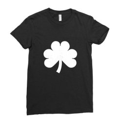 Patrick's Day Symbol Icon Ladies Fitted T-shirt Designed By Alamy