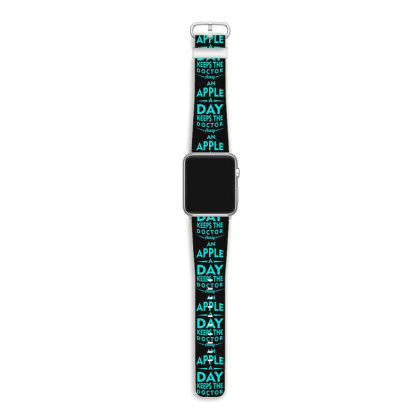 An Apple A Day Keeps The Doctor Away Apple Watch Band Designed By S4bilal