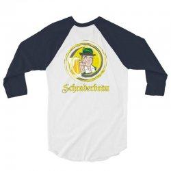 schraderbrau 3/4 Sleeve Shirt   Artistshot