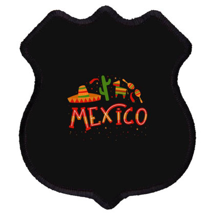 Mexico Shield Patch Designed By Estore
