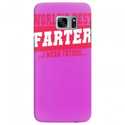 World's Best Farter I Mean Father Samsung Galaxy S7 Edge Case Designed By Specstore