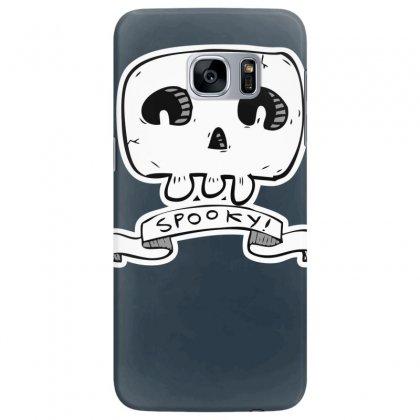 Spooky Skull Samsung Galaxy S7 Edge Case Designed By Specstore