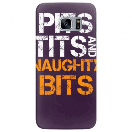 Pits Tits And Naughty Bits Samsung Galaxy S7 Edge Case Designed By Specstore