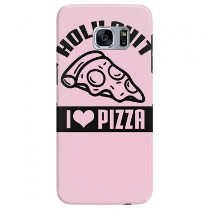 I Love Pizza Tee Samsung Galaxy S7 Edge Case Designed By Specstore